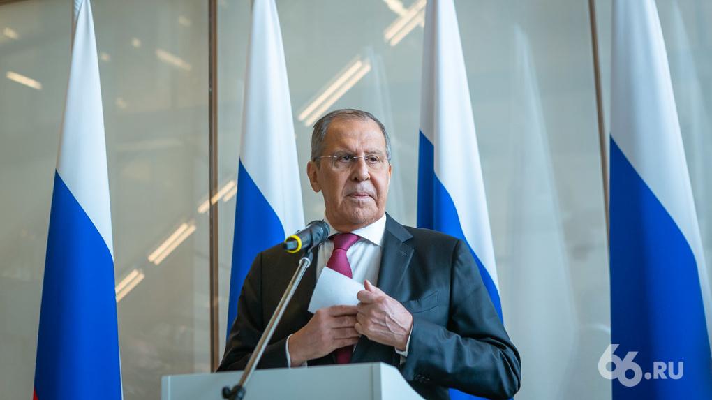 Сергей Лавров: Екатеринбург готов провести ШОС и климатический саммит
