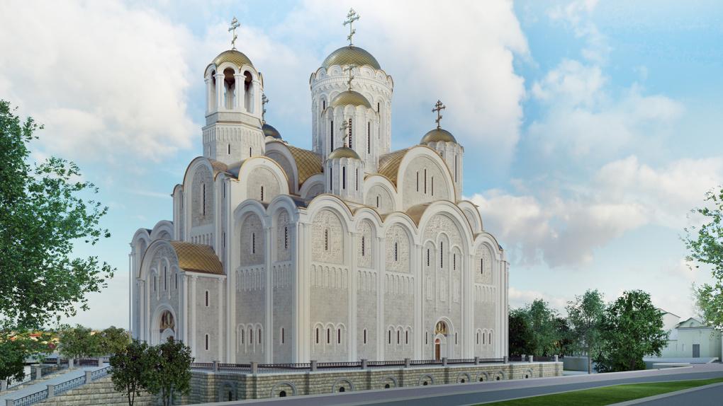 Как будет выглядеть храм Святой Екатерины на набережной Городского пруда. Все подробности проекта