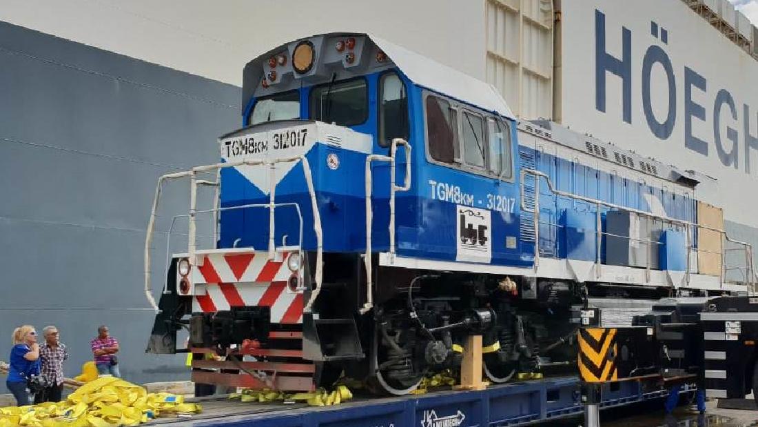 Холдинг «Синара – Транспортные Машины» поставил тепловозы крупнейшему металлургическому заводу Кубы
