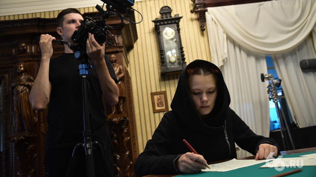 В Екатеринбурге снимают короткометражки о жизни в позапрошлом столетии. Фото