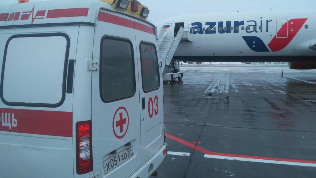 В Перми приземлился самолет из Китая с заболевшим пассажиром. У него заподозрили смертельный вирус