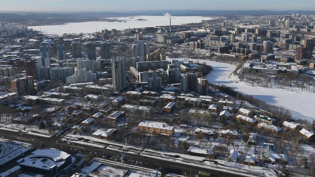 Проектировщики московской «Стрелки» нарисовали три варианта застройки Екатеринбурга