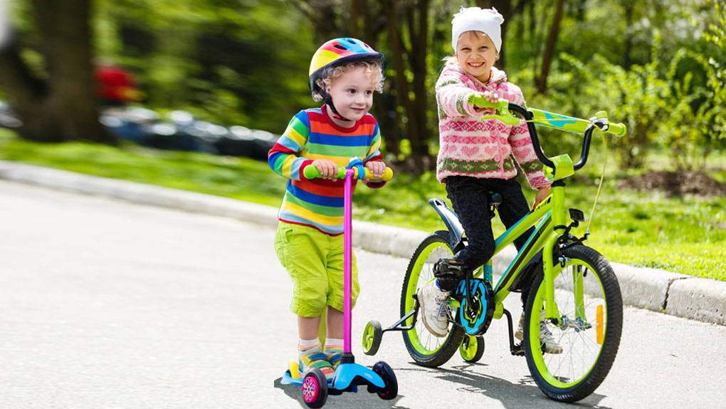 Купи игрушку и катись! Пять велосипедов и самокатов ждут своих обладателей в гипермаркете «Сима-ленд»