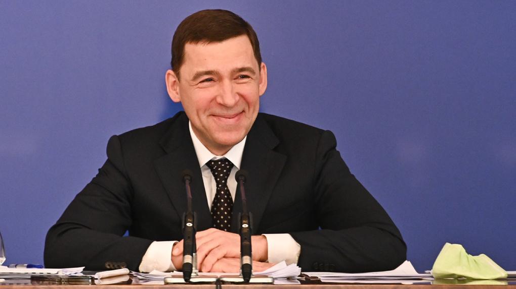 Евгений Куйвашев досрочно выполнил свою предвыборную Пятилетку развития. Предусмотрительно ее переписав