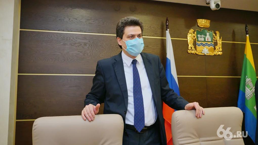 Александра Высокинского официально назначили на должность первого замгубернатора