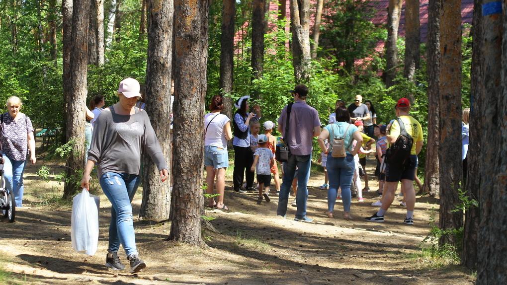В Свердловской области людям запретили ходить в лес, но всем все равно, даже министерству природы. Фото
