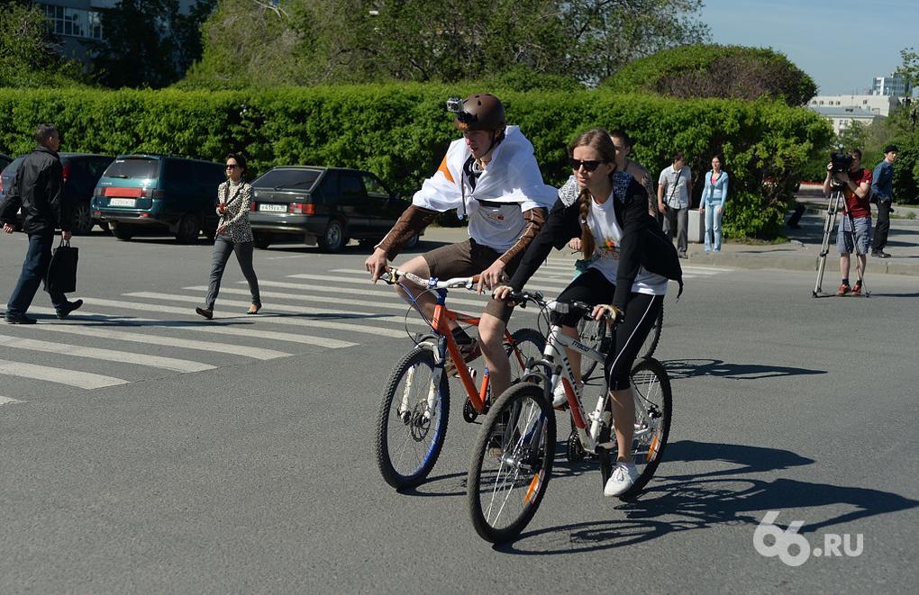 На старт «Майской велопрогулки» вышли более 6 тысяч человек