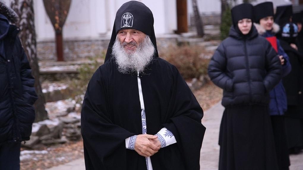 «За три дня я наведу порядок»: схиигумен Сергий потребовал передать ему президентскую власть