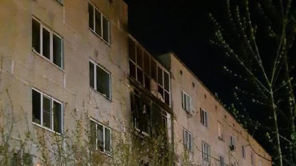 В пожаре под Екатеринбургом погиб пятилетний ребенок