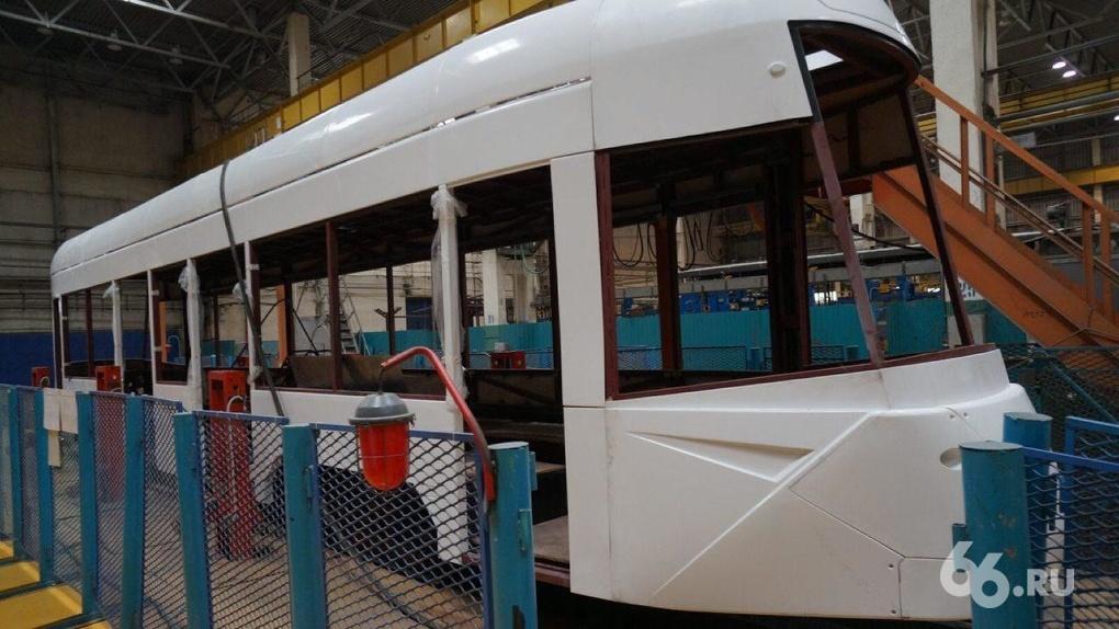 Скоро на улицах города: администрация Екатеринбурга возьмет на тест-драйв новый трамвай Уралтрансмаша