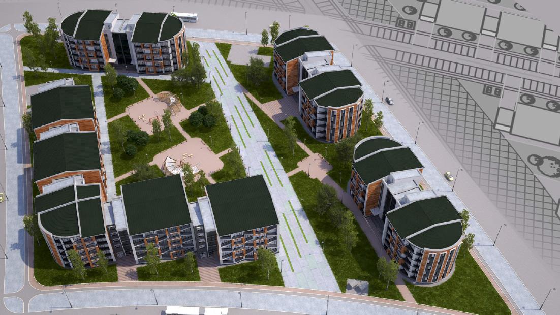 На болоте у Чусовского тракта построят поселок с торговым центром и офисниками