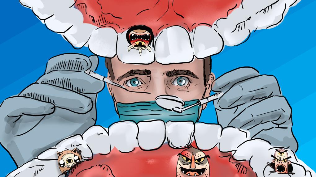 Они живут у вас во рту. Все о зубных чудищах и способах борьбы с ними