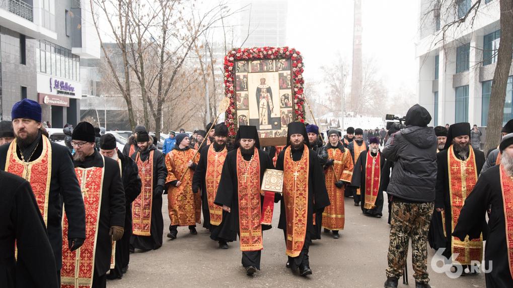 Екатеринбургская епархия отменила пасхальный крестный ход