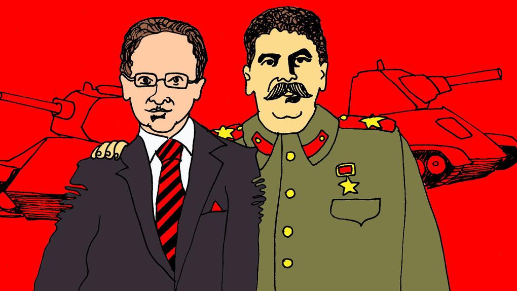 Увидеть вождя и умереть. Павел Матяж – о военном роуд-муви для настоящих сталинистов от Мединского