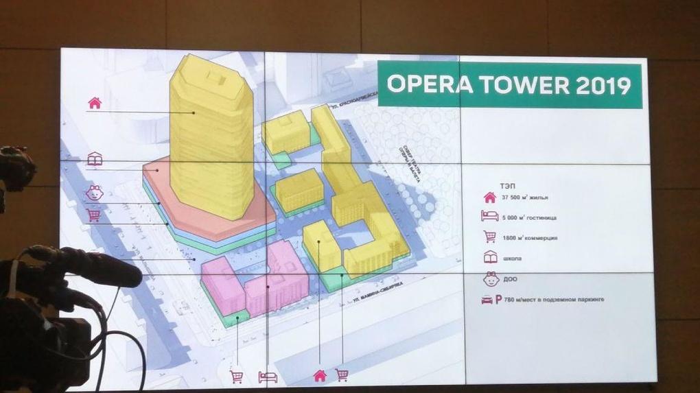 В небоскребе Opera Tower появится первый в России встроенный детский сад и начальная школа. Эскизы