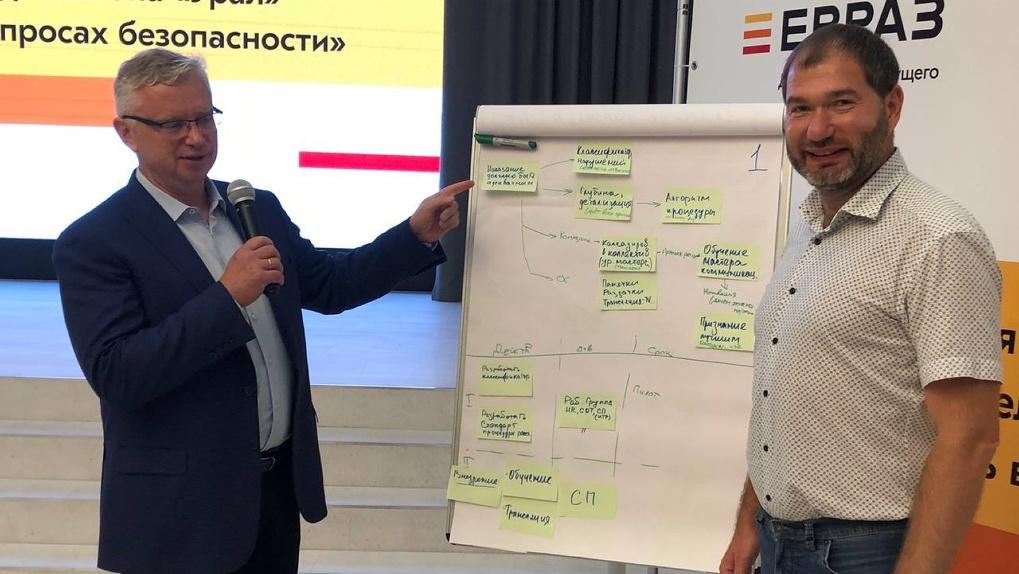 В Нижнем Тагиле прошла встреча топ-менеджеров Сбера и ЕВРАЗа. Тема — эффективность бизнес-процессов