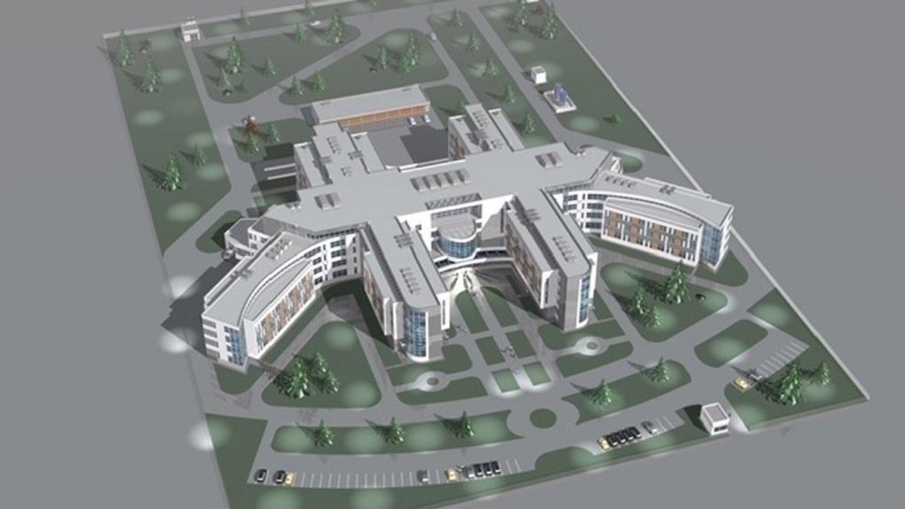 Определились сроки строительства медкластера в Академическом, который не могли начать возводить 8 лет
