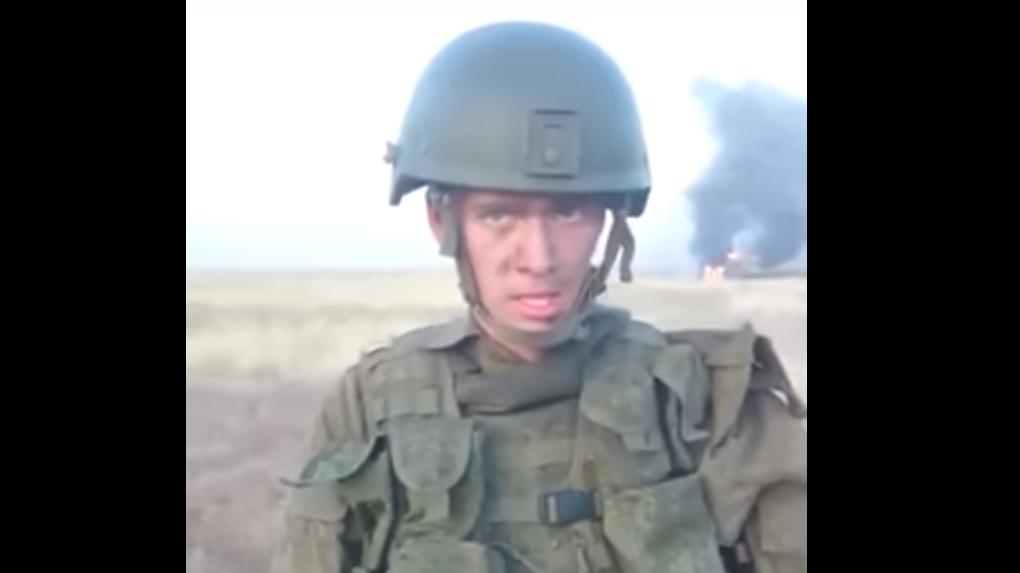 Солдат разогрел еду, сжег БТР за28 млн. ипопал накамеры