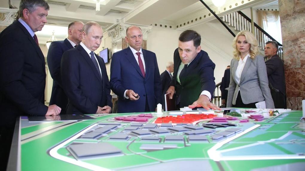 Владимир Путин одобрил план строительства Деревни Универсиады рядом с Кольцово