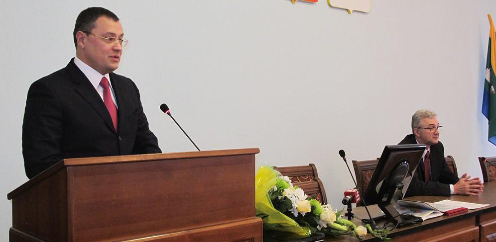 Бывший глава Ленинского района официально занял место Евгения Липовича