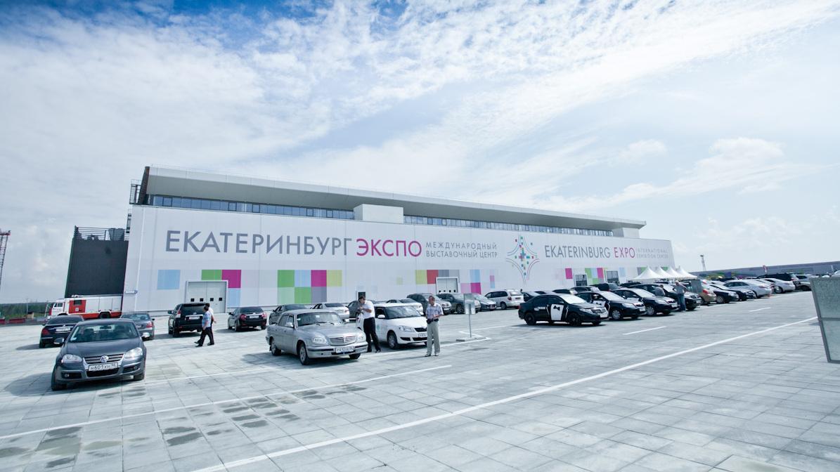 Парковку перед «Екатеринбург-Экспо» переделают к «Иннопрому». Стоимость работ — 64,6 млн рублей