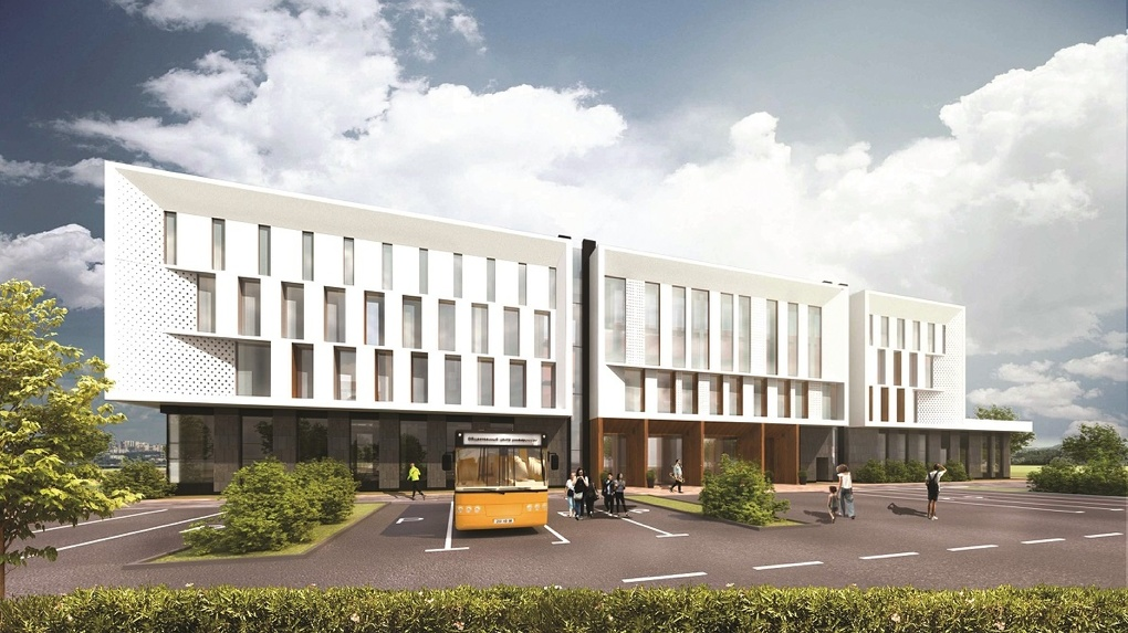 «Синара-Девелопмент» начала возводить общественный центр Универсиады-2023