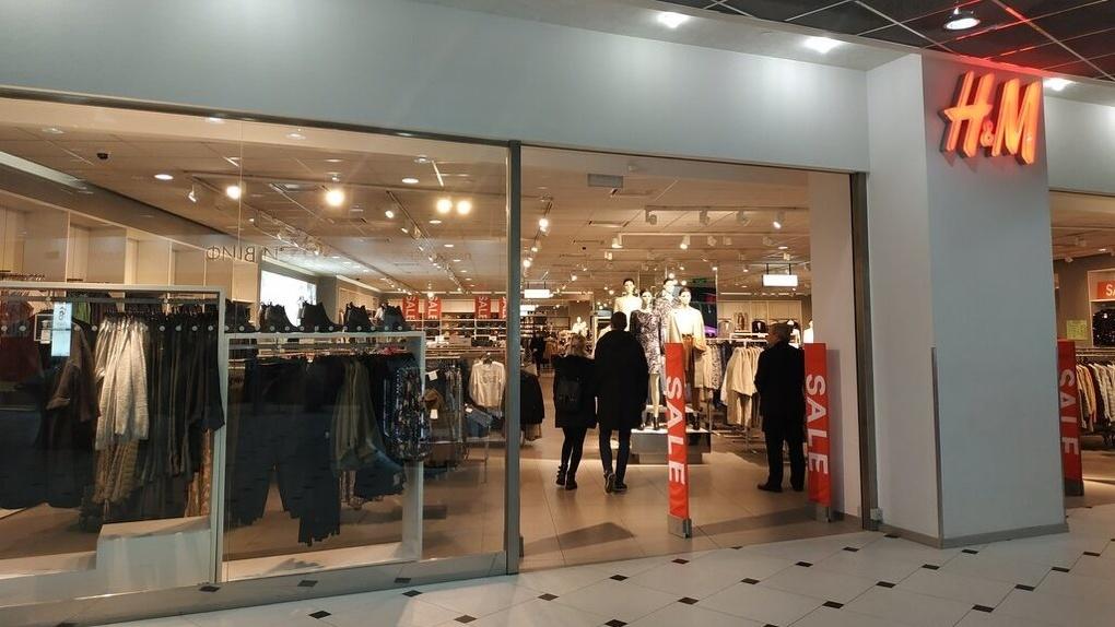 Магазин H&M возобновил работу в «Гринвиче»