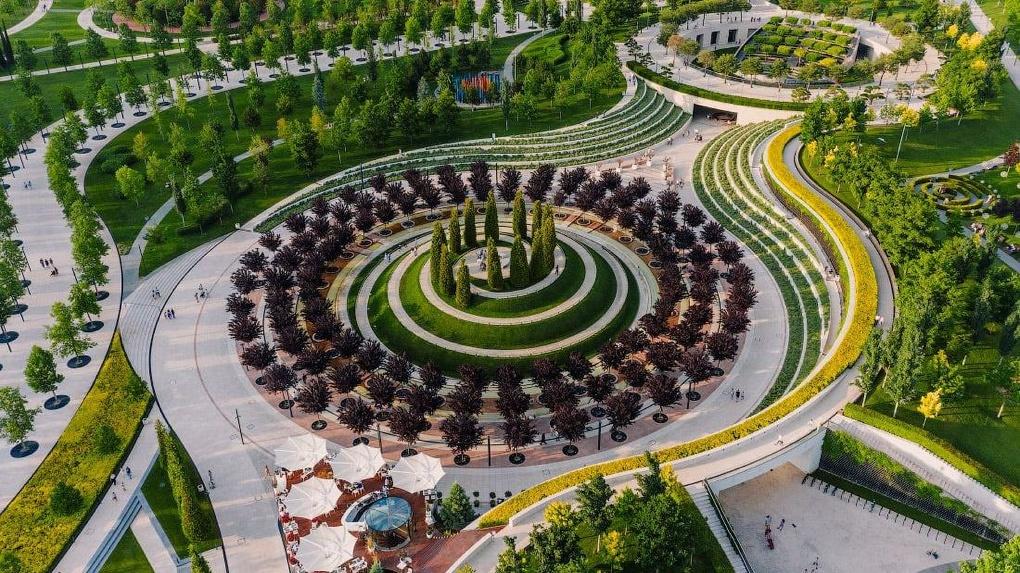 В Екатеринбурге появится парк, как у миллиардера Галицкого в Краснодаре. Посмотрите, каким он может быть
