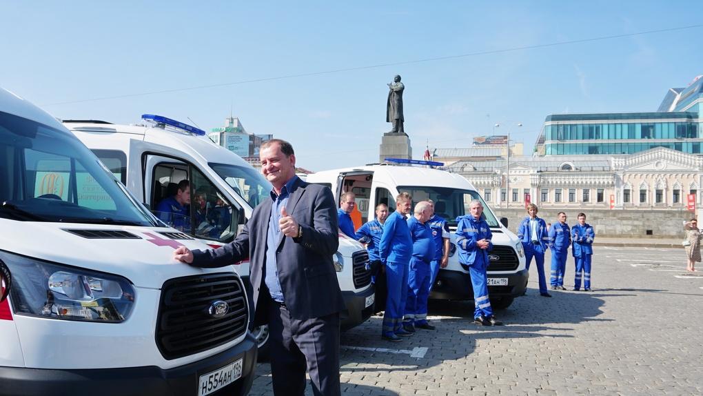 Фонд святой Екатерины купит Екатеринбургу еще 25 машин скорой помощи