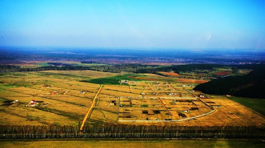На юге Екатеринбурга запроектировали поселок на 315 дачных домов