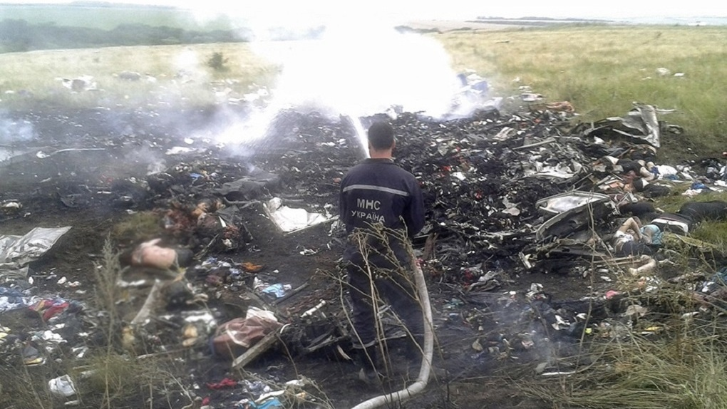 Голландские ученые сообщили, что самолет MH17 сбили русские военные