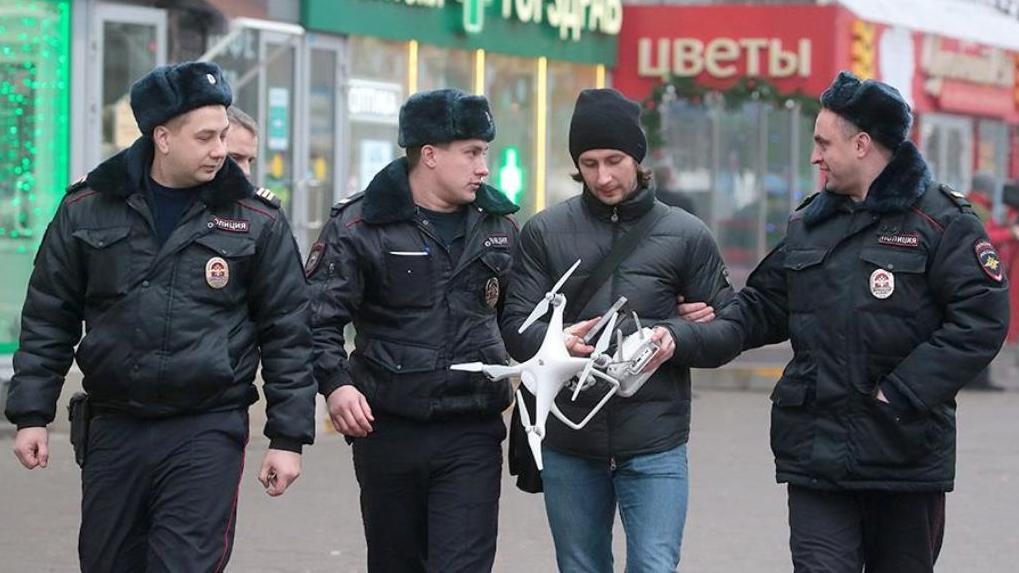 Делами онарушениях применения дронов займутся милиция иРосгвардия