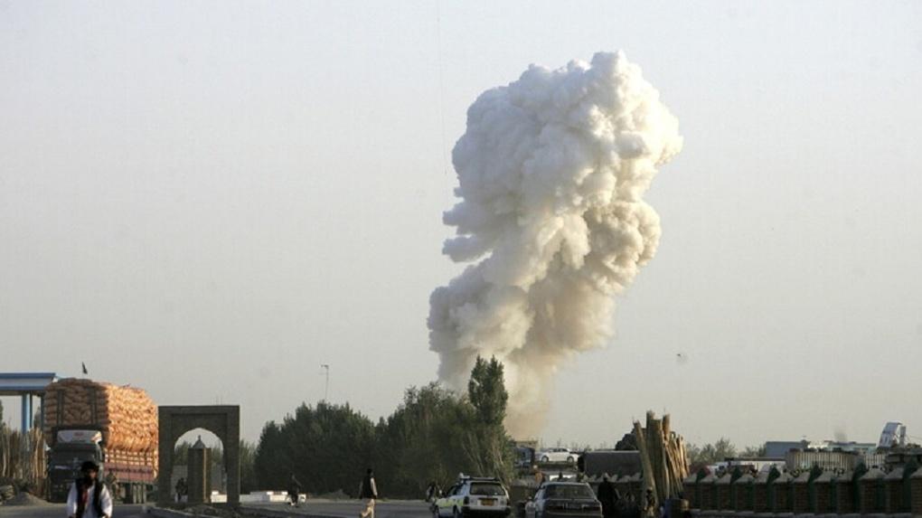 В Афганистане разбился военный самолет США
