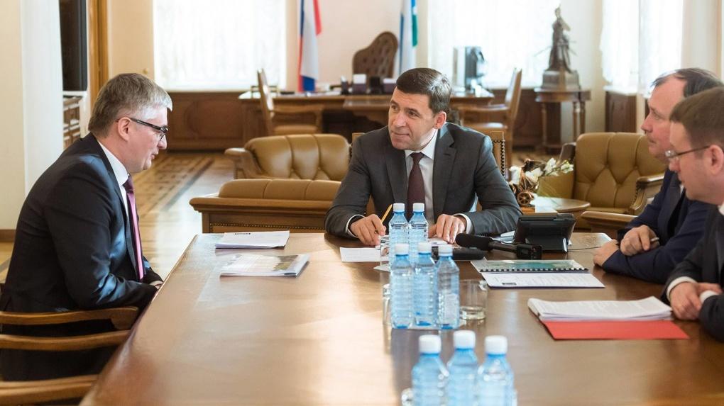 Евгений Куйвашев выбрал директора Шарташского лесопарка