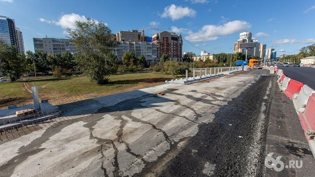 Мост на Луганской  Объездной во второй раз не открыли вовремя. Новый срок