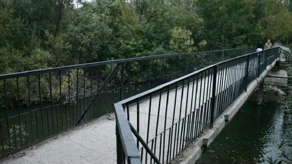 На входе в ЦПКиО построят новый 200-метровый мост через Исеть
