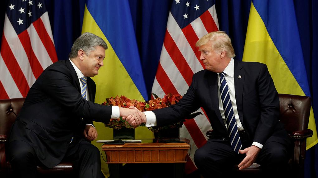 Петр Порошенко заплатил $400 тыс. за фото с Дональдом Трампом