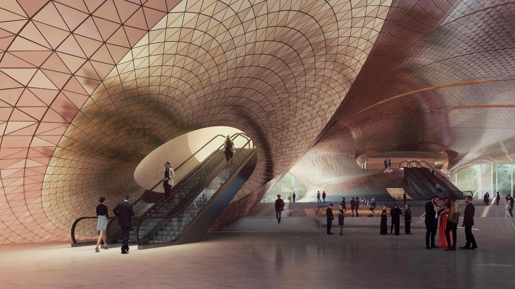Стала известна финальная концепция нового зала филармонии. Фото