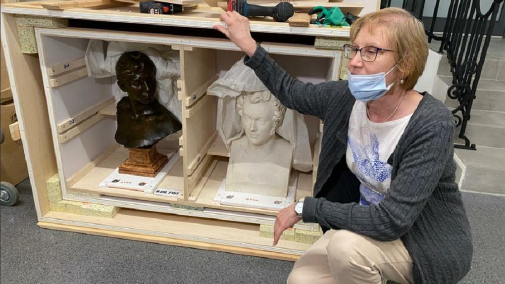 В Екатеринбург на открытие «Эрмитаж-Урала» привезли уникальные картины и скульптуры. Фото