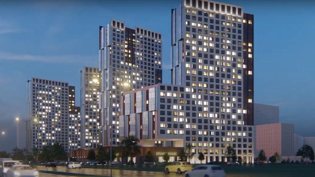 Цыганский поселок у «Меги» застроят стенами из 30-этажных домов. Новые подробности проекта