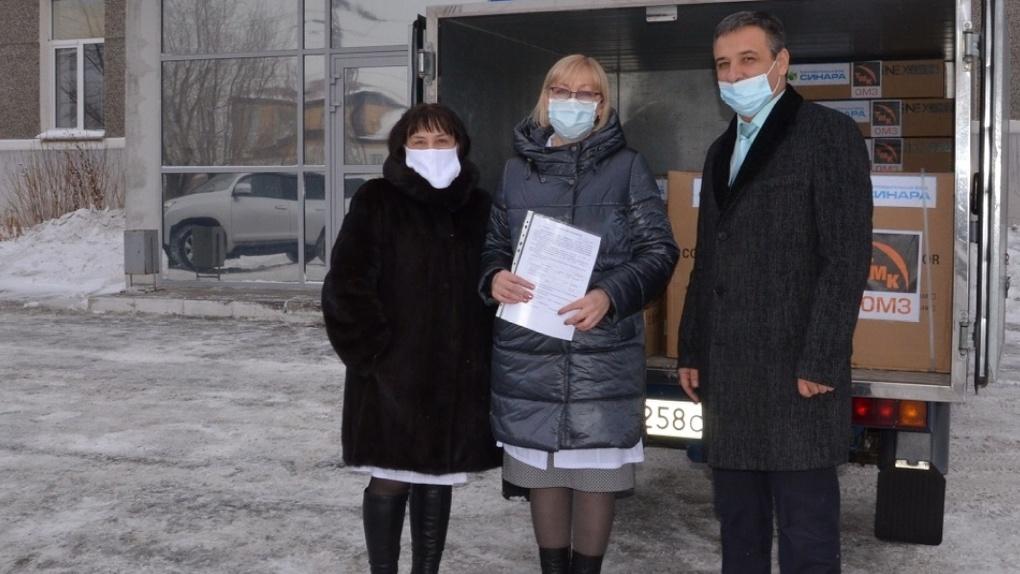 БФ «Синара» приобрел для лечебных учреждений 20 тысяч респираторов