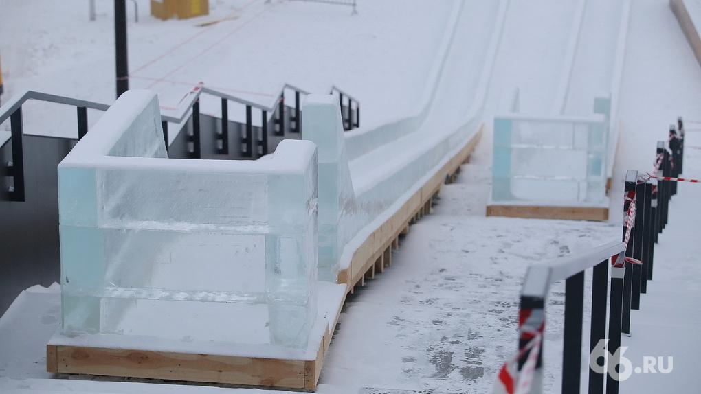 Как построить в своем дворе безопасную ледяную горку. Понятная инструкция и чертеж