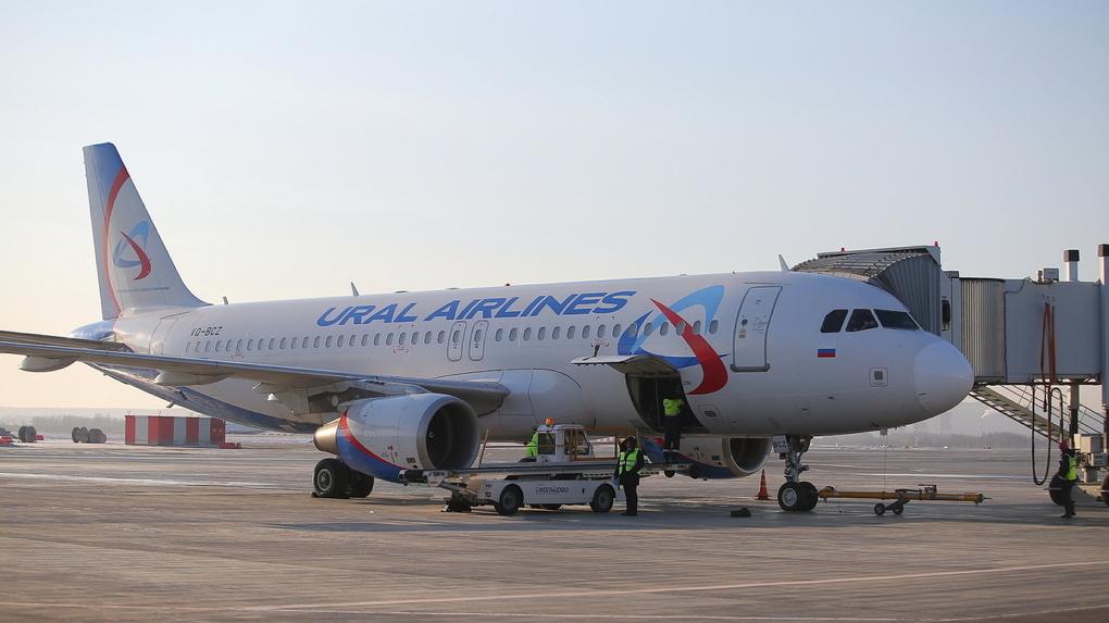 «Уральские авиалинии» запустят прямой рейс из Екатеринбурга в Шарджу