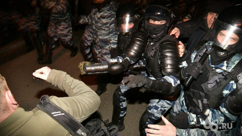 Владимир Путин о силовиках на несанкционированных митингах: «Они ранимые и трепетные»