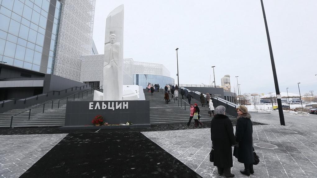 Поджигатель памятника Ельцину отделался исправительными работами