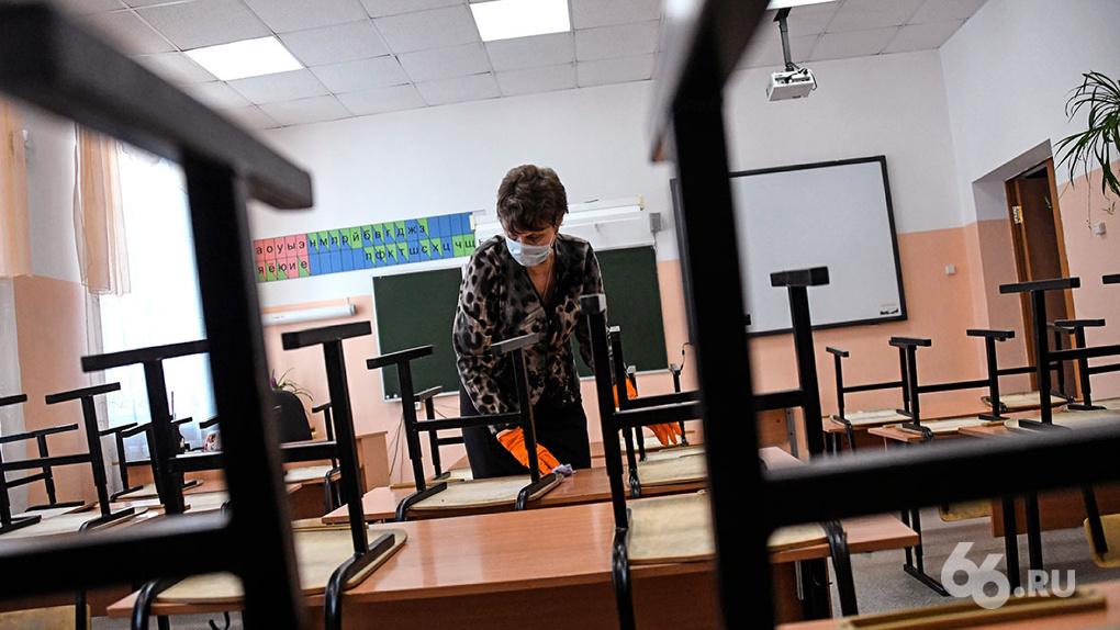 Замгубернатора рассказал, сколько времени школьники будут учиться на дистанте