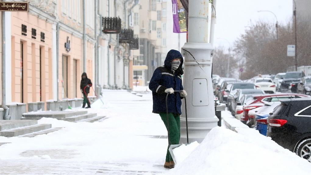 В Свердловскую область идут аномальные морозы