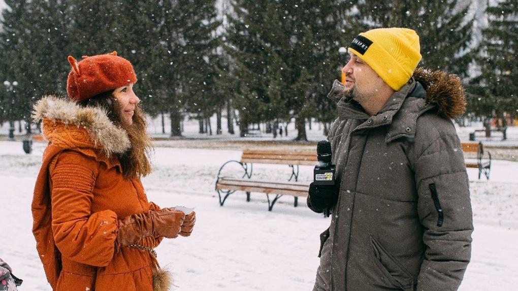 Обмен счастьем. В Екатеринбурге стартовал арт-проект «Город говорит»