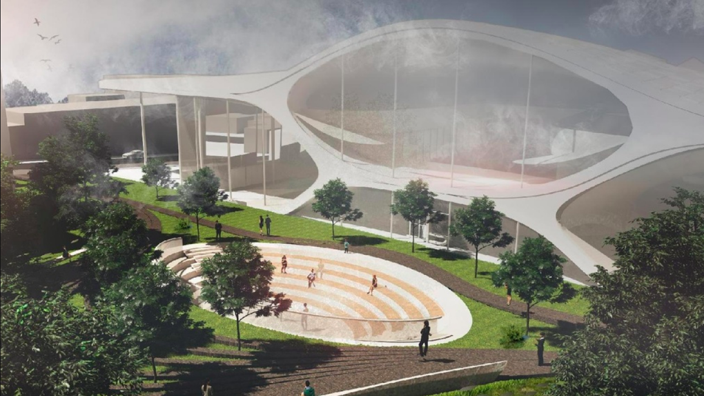 Филармония против музыкального сада: защитники деревьев не одобрили обновленный проект концертного зала