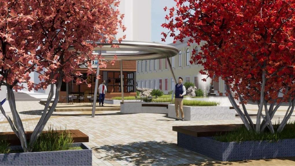 Улицу Вайнера реконструируют к 2023 году. Первые рендеры